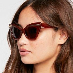 Free People Florence Cat Eye Sunglasses
